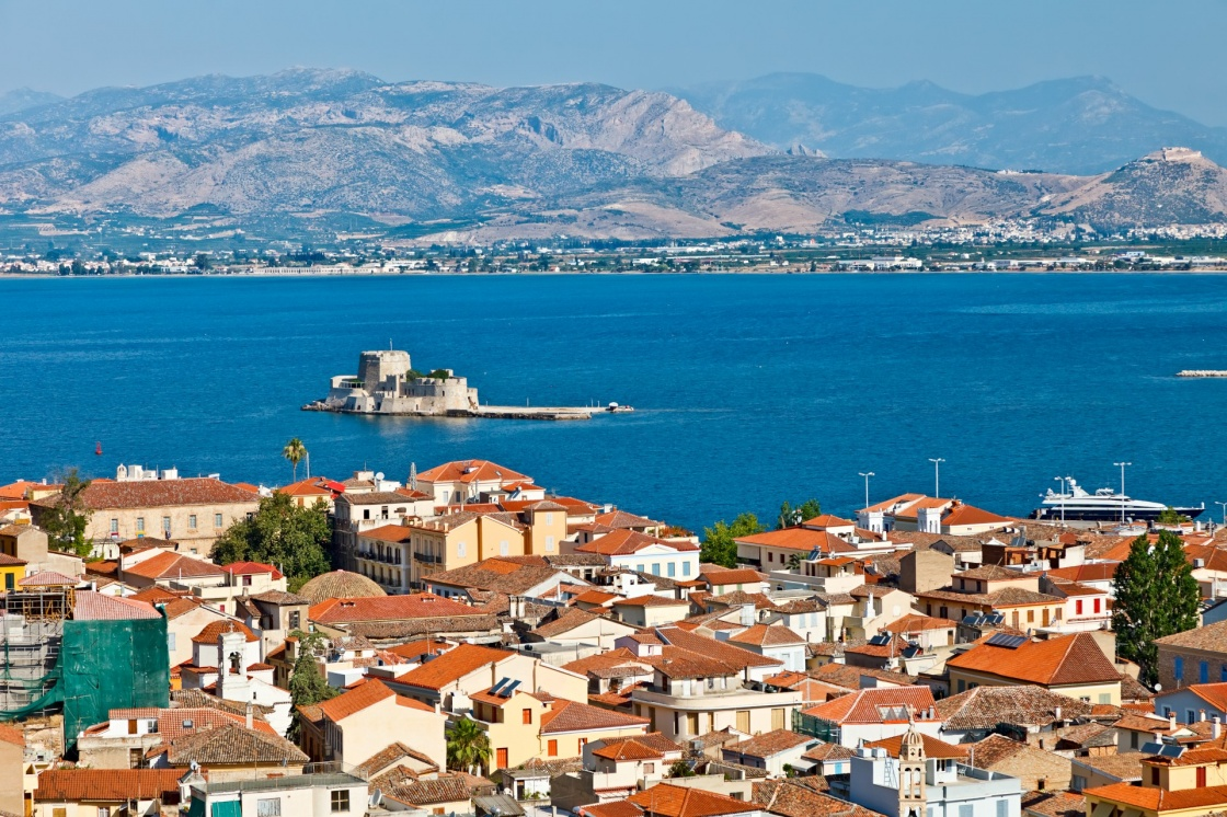 'Bourtzi castle, Nafplion, Greece' - Ναύπλιο